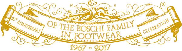 Logo 50° anniversario famiglia Boschi